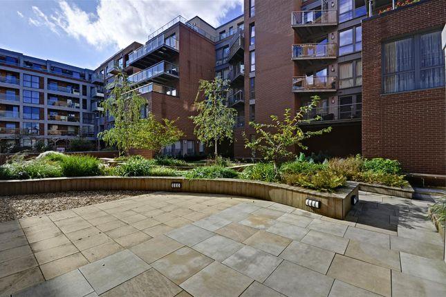 Courtyard of Lighterage Court, High Street, Brentford TW8