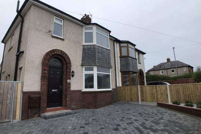 3 bed semi-detached house to rent in Uldale Road, Carlisle, Cumbria CA2