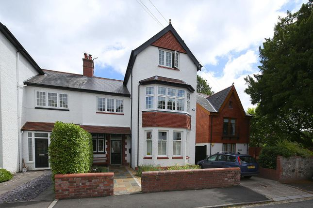 Thumbnail Semi-detached house to rent in The Avenue, Llandaff, Cardiff