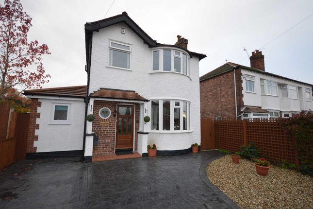 Thumbnail Detached house for sale in Cambridge Road, Bromborough, Wirral