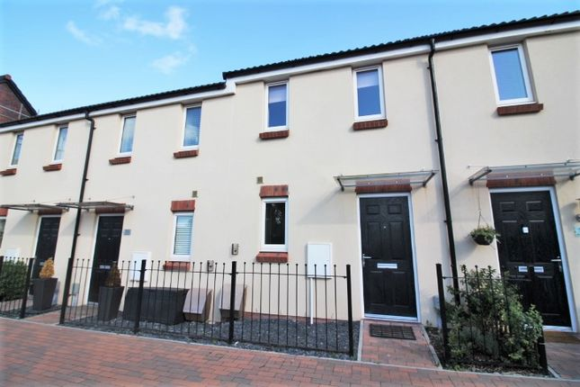 Thumbnail Terraced house to rent in Buzzard Way, Cranbrook, Exeter