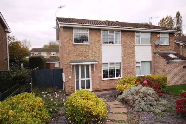 Thumbnail Semi-detached house to rent in Darsway, Castle Donington, Derby