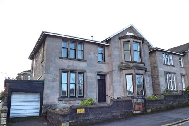 Thumbnail Flat for sale in Fox Street, Greenock
