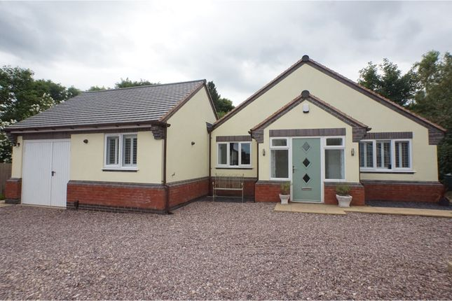 Thumbnail Detached bungalow for sale in Cannock Road, Burntwood