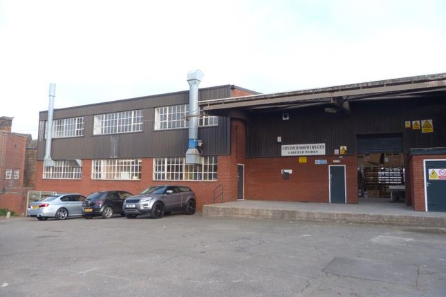 Industrial to let in Lower Ground Floor, Garfield Works, Uttoxeter Road, Longton