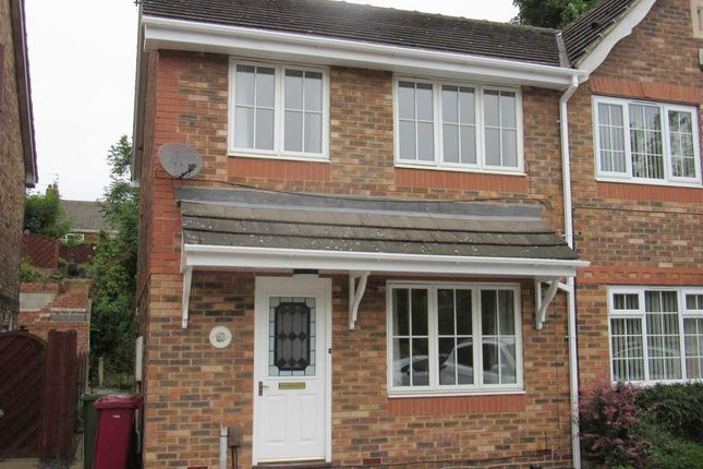 Thumbnail Semi-detached house to rent in Orchid Rise, Scunthorpe