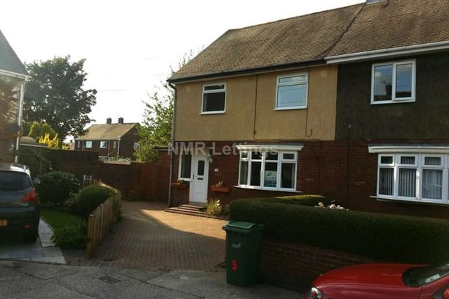 Thumbnail Semi-detached house to rent in Shafto Square, Springwell, Sunderland