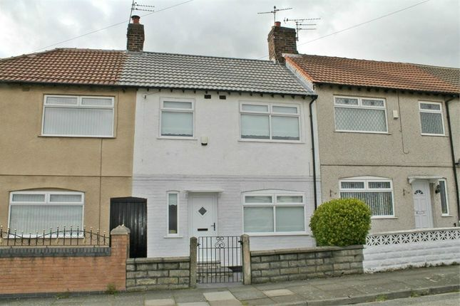 Thumbnail Terraced house to rent in Annie Road, Bootle, Merseyside