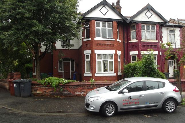 Thumbnail Semi-detached house to rent in Park Range, Rusholme, Manchester