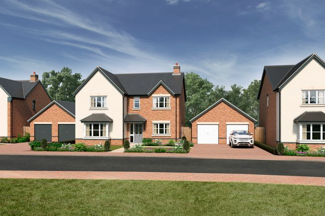 Thumbnail Detached house for sale in Off Sparrowhawk Way, Telford