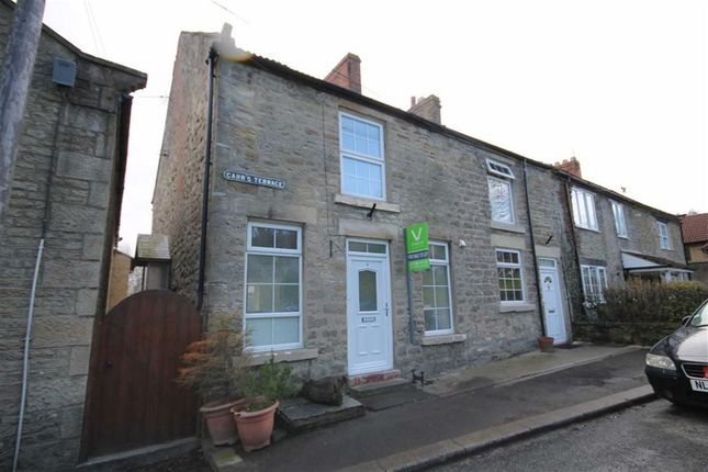 Thumbnail End terrace house for sale in Carrs Terrace, Witton Le Wear, Co Durham