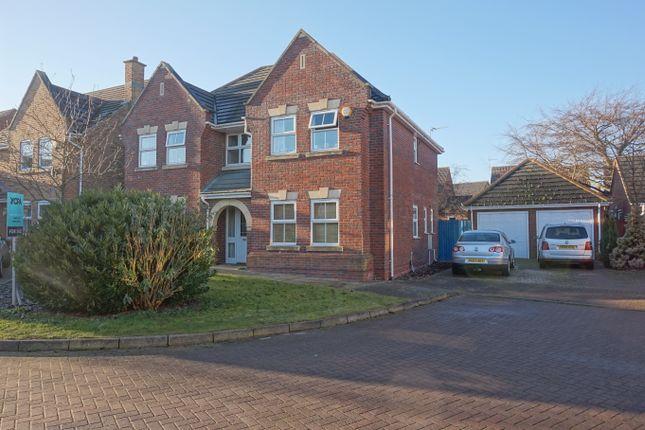 Thumbnail Detached house for sale in Winchester Close, Bracebridge Heath, Lincoln