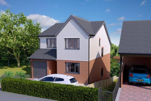 Thumbnail Detached house for sale in School Lane, Southsea, Wrexham