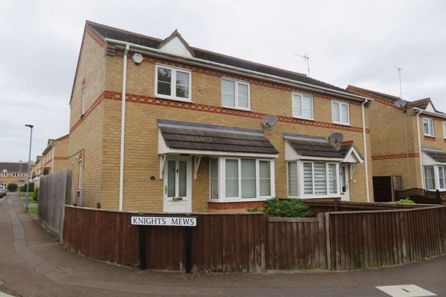 3 bed semi-detached house to rent in Knights Mews, Peterborough PE2