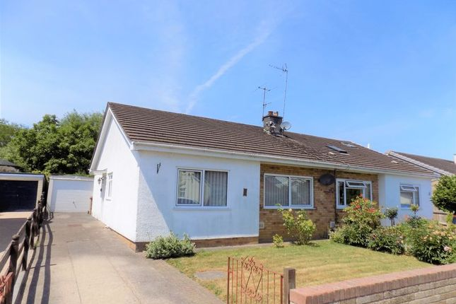 Thumbnail Semi-detached bungalow for sale in Hazel Grove, Caerphilly