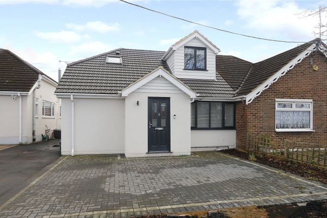 Thumbnail Semi-detached house for sale in Church Road, Benfleet