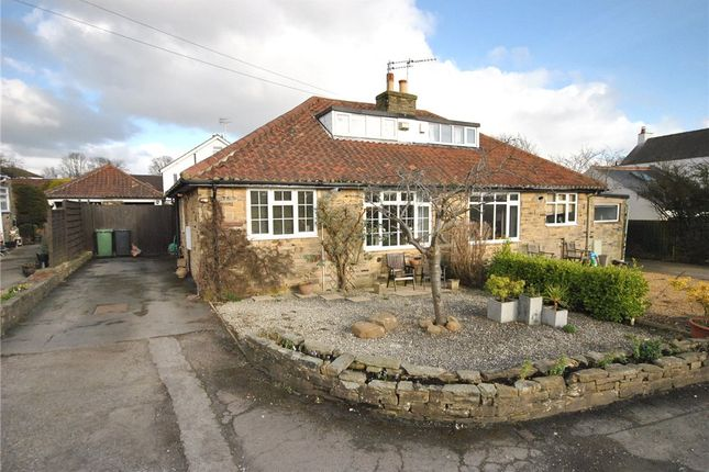 Thumbnail Semi-detached bungalow for sale in Sycamore Close, Bramhope, Leeds, West Yorkshire