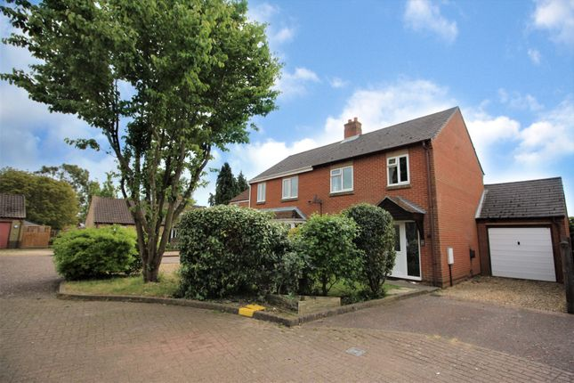 Thumbnail Semi-detached house for sale in Foundry Close, Foulsham, Dereham