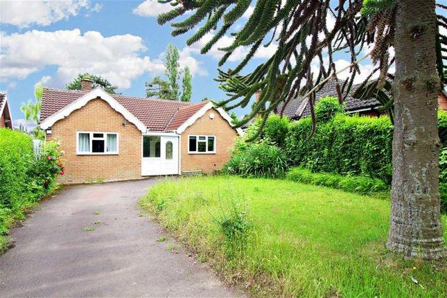 Thumbnail Detached bungalow for sale in Parkside, Keyworth, Nottingham
