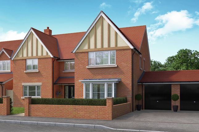 "Thumbnail Detached house for sale in ""The Kingston"" at Bromham Road, Bedford"
