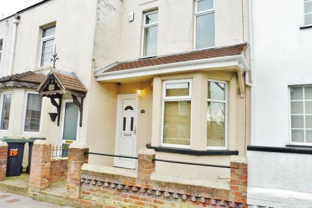 Thumbnail Terraced house to rent in Anns Hill Road, Gosport