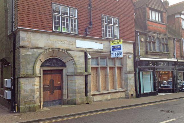 Thumbnail Retail premises to let in 7, High Street, Crowborough