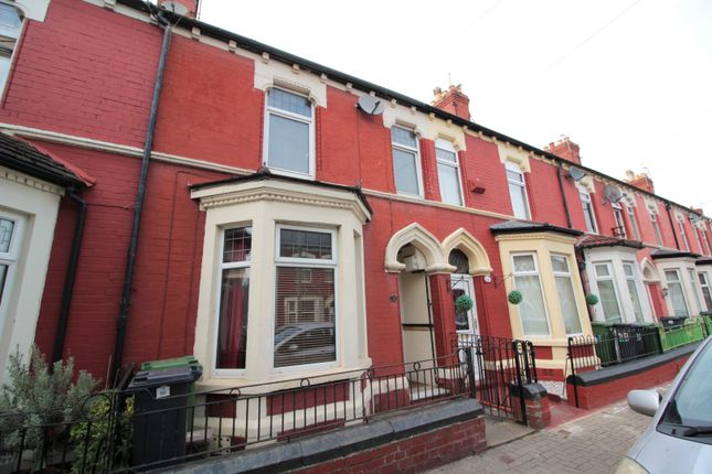 Thumbnail Terraced house for sale in Pomeroy Street, Cardiff Bay