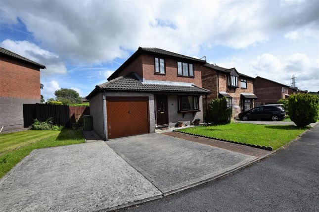 Thumbnail Detached house for sale in Cottesmore Way, Cross Inn, Pontyclun