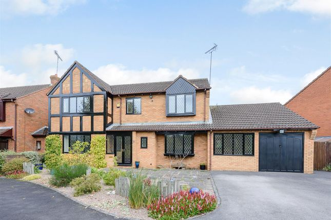 Thumbnail Detached house for sale in Barbourne Close, Solihull