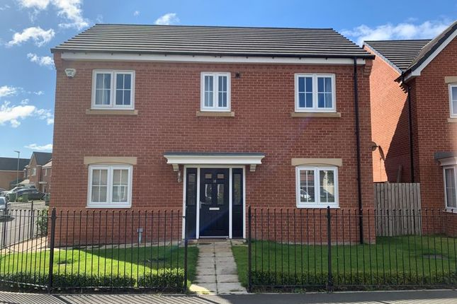 Thumbnail Detached house for sale in Poppy Drive, Portland Wynd, Blyth