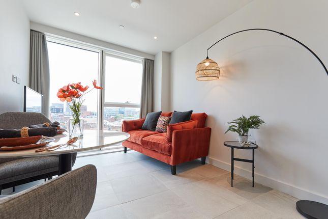 Studio to rent in Angel Gardens, Manchester M4