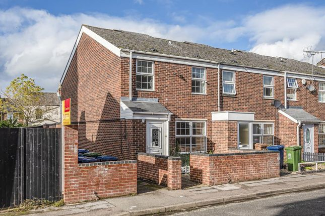 Thumbnail End terrace house for sale in Oxfordshire, Oxford