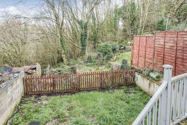 Rear Garden of Dart Close, Plymouth PL3