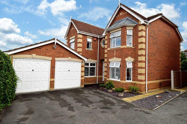 Thumbnail Detached house for sale in Caprington Court, Normanton