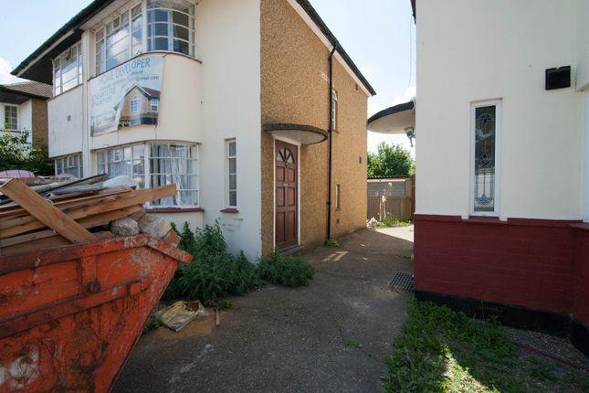 Thumbnail Semi-detached house for sale in Longford Avenue, Feltham