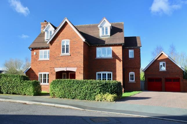 Thumbnail Detached house for sale in Redbourne Drive, Weston, Crewe, Cheshire