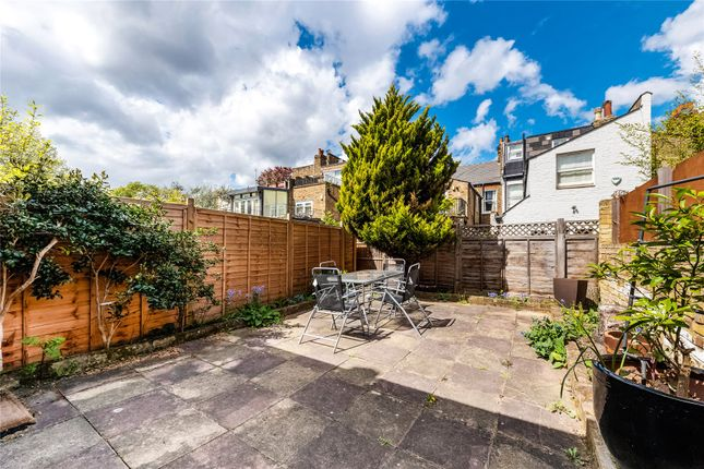 Garden of Friston Street, Parsons Green, Fulham, London SW6