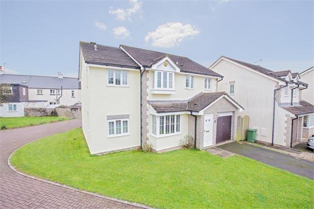 Thumbnail Detached house for sale in Tremlett Grove, Ipplepen, Newton Abbot, Devon.