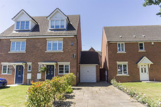 Thumbnail Semi-detached house for sale in Upper Croft, Danesmoor, Chesterfield