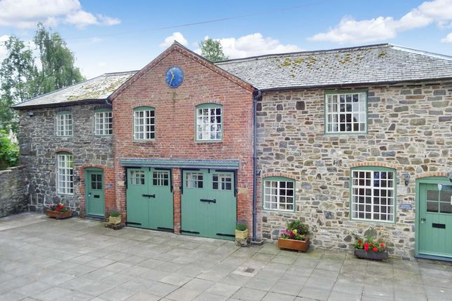 Thumbnail Semi-detached house for sale in Coach House Cottage & Stable Cottag, Old Rectory, Llandyssil, Powys