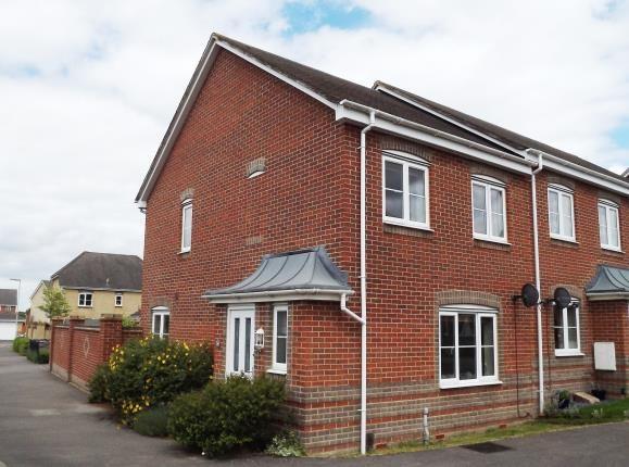 Thumbnail End terrace house for sale in Basingstoke, Hampshire
