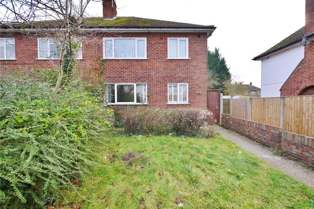 Thumbnail Maisonette for sale in Rayleigh Road, Hutton, Brentwood, Essex