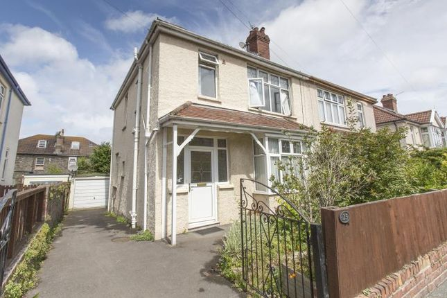 Thumbnail Semi-detached house for sale in Balmoral Road, St. Andrews, Bristol