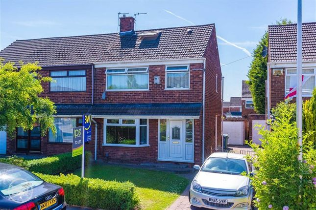 Thumbnail Semi-detached house to rent in Sherriffs Drive, Tyldesley, Manchester