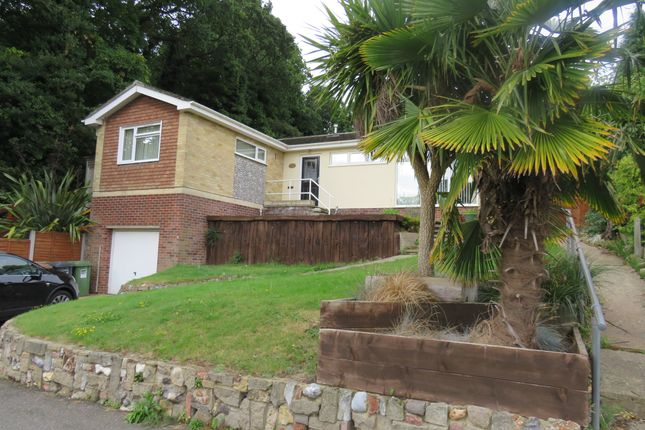 Thumbnail Detached bungalow for sale in Hillside, Cromer