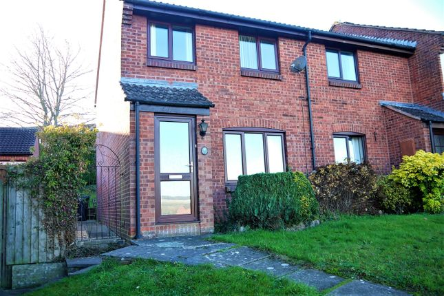 Thumbnail End terrace house for sale in Rogers Meadow, Marlborough