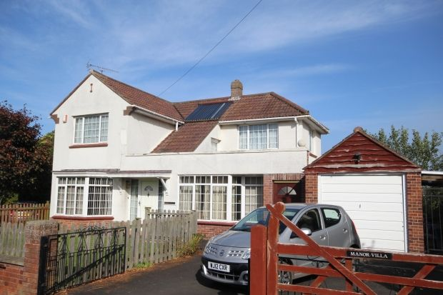 Thumbnail Detached house for sale in Manor Road, Chedzoy, Bridgwater