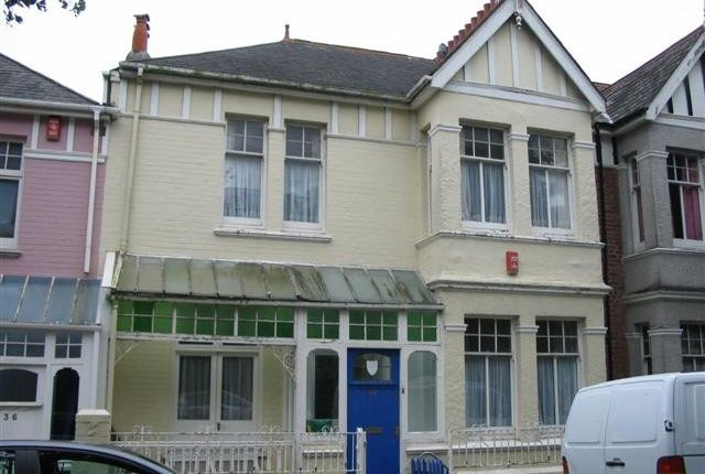 Thumbnail Town house to rent in College Avenue, Mutley, Plymouth