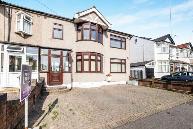 Thumbnail Semi-detached house for sale in Keswick Gardens, Ilford