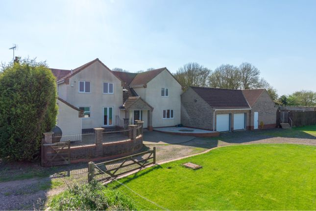 Thumbnail Farmhouse for sale in Drybread Road, Whittlesey, Peterborough
